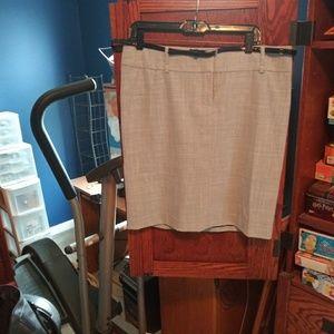 Express design studio grey pencil skirt size 12